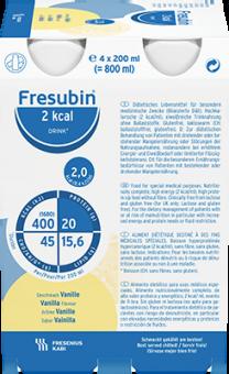 Fresubin 2Kcal DRINK 6x4x200ml Vanille 24x200ml
