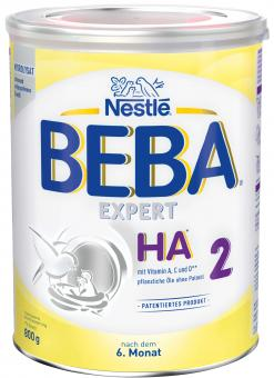 Nestlé BEBA EXPERT HA2 - 6 Dosen a 800g