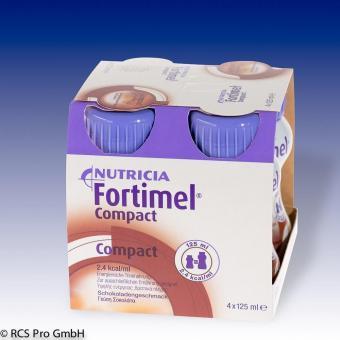 Nutricia Fortimel Compact 8x4x125ml chocolate 8x4x125ml
