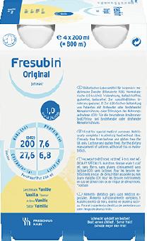 Fresubin ORIGINAL Drink 6 x 4 x 200ml Vanille 24x200ml