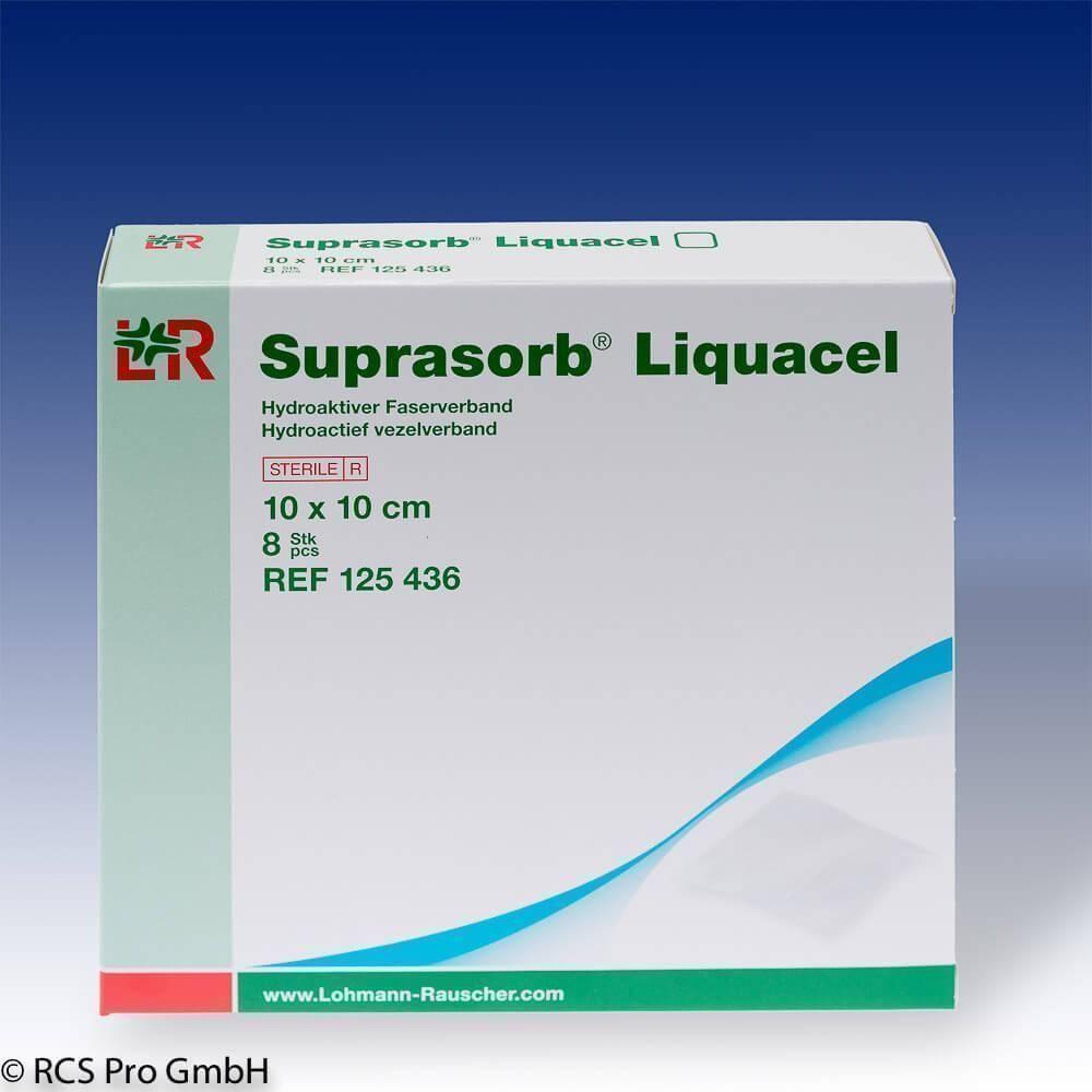 Suprasorb Liquacel steril 10x10cm 8 Stück | Moderne Wundversorgung ...