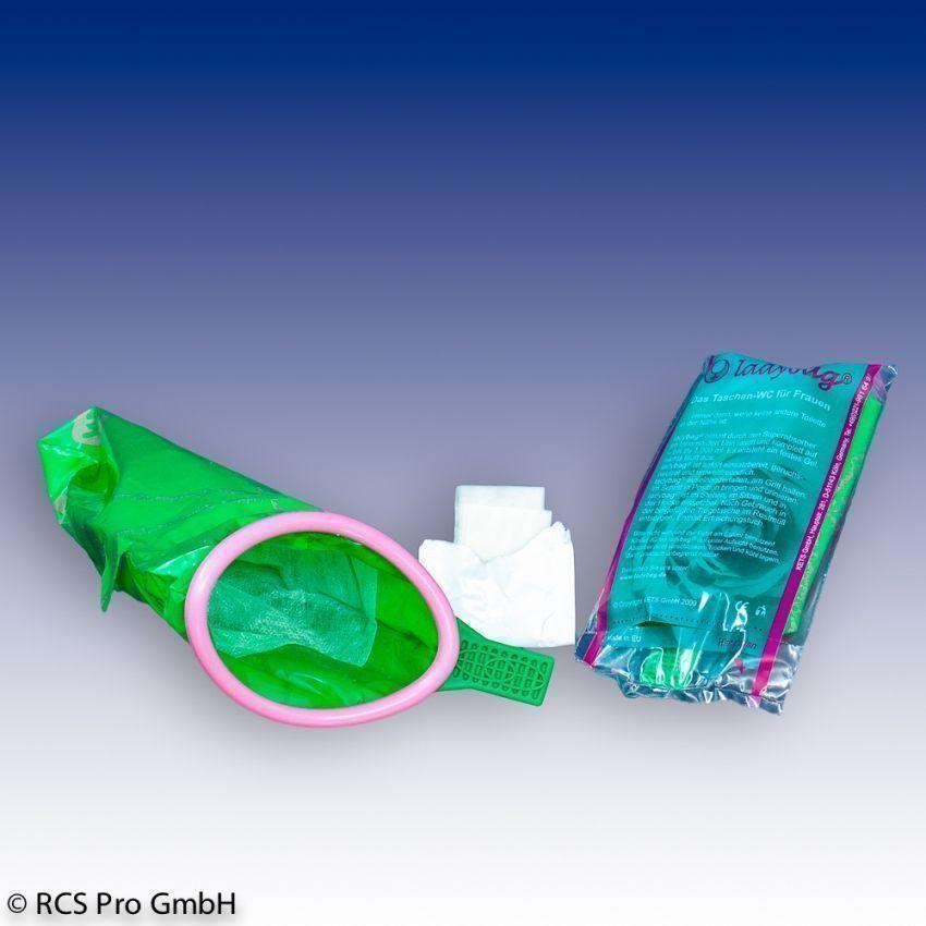 Urinierhilfen für Frauen - Ladybag Einwegurinal